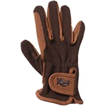 Tough-1 Childs Pony Gloves 6-8 Blk//SkyBlue