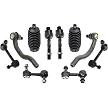 PartsW 8 Pc Front Suspension Kit for Ford Explorer /& Explorer Sport Trac Ranger Mazda B2500 B3000 B4000 Mercury Mountaineer Sway Bar End Links Inner /& Outer Tie Rod Ends With Gear Bellows