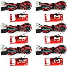 Tulead Limit Switches 1.6x0.63 Endstop Module CNC End Switch with 22AWG Cable for 3D Printers Pack of 5