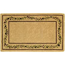 Nedia O2054 Not Applicable Heavy Duty 22 x 36 Coco Mat Single Picture Frame-Plain Half Round Brown