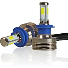 JOJOY LUX 9007 HB5 LED Headlight Conversion Kits High//Low Dual Beam Bulbs w// 56W 6400LM Epistar LED Chips 6500K Diamond White Color Pair of 2 w// 1 yr Warranty