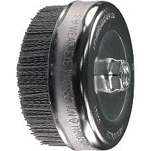 PFERD 82635 Crimped Cup Brush 9000 RPM 4 Diameter 1-1//4 Trim Length PFERD Inc. 1-1//4 Trim Length 4 Diameter Stainless Steel Wire 0.020 Wire Size 5//8-11 Thread