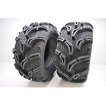 Tire Ply: 6 22x10x9 Maxxis MU02 Zilla Tire Rim Size: 9 Rear Position: Rear Tire Type: ATV//UTV Tire Size: 22x10x9 Tire Application: Mud//Snow TM00433100 Tire Construction: Bias