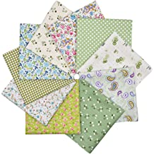 Solid Color Cotton Fabric Bundle Squares Patchwork DIY Sewing Scrapbooking Quilting Pattern Artcraft 30cmx30cm RayLineDo 14pcs 12 x 12 inches