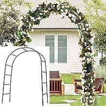 Tbest Garden Arch,Garden Arbor for Various Climbing Plant Outdoor Garden Lawn Backyard for Party Wedding Ceremony Decoration 84.3X 54.3X 22.8in