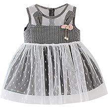 Hstore❀️ Parent-Child Wear Matching Family Clothes Children Girls Leaves Short Sleeve Dress Clothes Dress