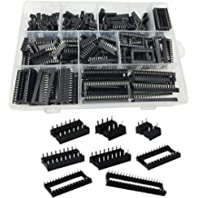 100 Pieces 6//8//14//16//18//24//28//40 PIN IC Socket Connector Assortment