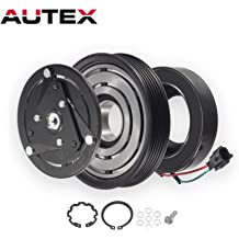 AC Compressor /& A//C Clutch For Lincoln MKZ 2007 2008 2009 2010 2011 2012