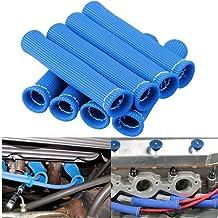 Bang4buck Titanium Spark Plug Wire Boots Heat Sheild Protector Sleeve 2500 Degree F
