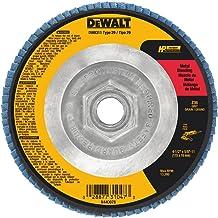 DEWALT DWA8218H 7-Inch by 5//8-Inch-11 80 Grit Zirconia T27 Flap Disc