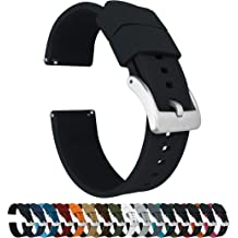9ac5ee3f1 Barton Elite Silicone Watch Bands - Quick Release - Choose Color - 18mm,  19mm,