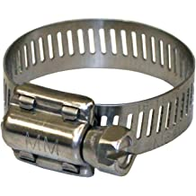 H03-0016 Silver 3//8 x 7//8 Stainless Steel Micro-Gear Hose Clamp Valterra