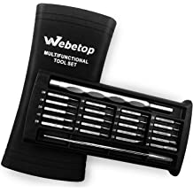 Webetop Screwdriver Set 36 Professional Repair Tool Kit for Cell Phone iPhone Series iPad Galaxy PC Computers Laptops