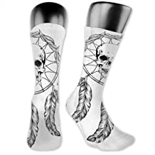 OLGCZM Dreamcatcher Men Womens Thin High Ankle Casual Socks Fit Outdoor Hiking Trail