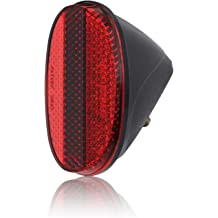 Lights & Reflectors DEMY Red Rear Bicycle Reflector