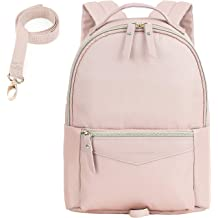 b53381eca6bb15 mommore Fashion Toddler Backpack Travel Kids Backpack with Small Toddler  Leash, Pink