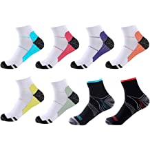waterlan 6 Pairs Compression 20-30mmHg Support Socks Relief Miracle Calf Mens Womens