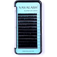 8987777f88a Ellipse Eyelash Extensions 0.15mm D Curl 8-15mm Mixed Flat Eyelash  Extension supplies Light Lashes Matte Individual Eyelashes Salon Use Black .