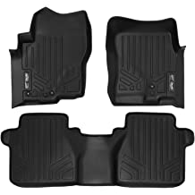 2013 Infiniti JX35 SMARTLINER Custom Fit Floor Mats 3 Row Liner Set Black for 2013-2019 Nissan Pathfinder 2014-2019 QX60