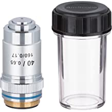 Fydun Biological Microscope 100X Achromatic Objectives Lens 160//0.17 Spring Oil DM-WJ005