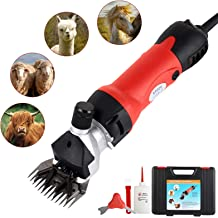 for Shaving Fur Wool in Sheep And Other Farm Livestock Pet Cattle UK Plug Professional Heavy Duty Electric Shearing Clippers with 6 Speed 350W Goats