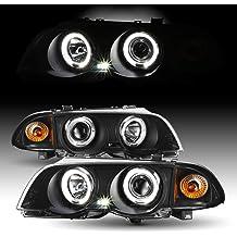 Fydun COB Angel Eyes Headlight 1 Pair Auto Halo Rings Angel Eye COB Chips Headlight DRL LED 12V for Motorcycle Car 60mm