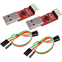 PL2303 in Nine Upgrades Plate with a Transparent Cover PL2303HX GalaxyElec 100pcs USB to TTL//USB-TTL//STC microcontroller Programmer