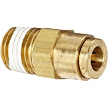 Pack of 20 Fitting Parker 66PMT-8-4-pk20 Push-to-Connect D.O.T 1//2 and 1//4 Tube to Female Pipe 1//2 and 1//4 Push-to-Connect and NPTF Connector Brass Pack of 20