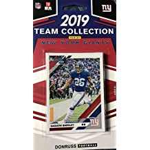 New York Jets 2019 Donruss Factory Sealed 10 Card Team Set with Sam Darnold and Joe Namath Plus a Quinnen Williams Rookie and 7 Other Players