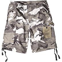 Paratrooper Shorts prewashed schwarz