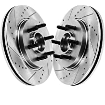 Bosch 20010326 QuietCast Premium Disc Brake Rotor For 2005-2008 Ford F-150 and 2006-2008 Lincoln Mark LT; Front