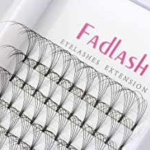 a7c00403f30 Premade Volume Eyelash Extensions 18mm 5D D Curl 0.10mm Pre-fanned Lash  Extensions Individual