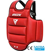 Maxx Pro Gel Boxing Protector Chest Guard MMA Body Armour Training Kickboxing IM