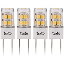 EP-G8-012W-XXWW G8 T4 Bi-Pin Bulb LED G8 2700k Warm White JCD 120v Xenon Halogen 25w Replacement.5w G8 LED COB Light Bulbs Pin Base LED Halogen Xenon Replacement Puck Light Bipin Under-Counter Lights Microwave Safe Envi-Plus Inc