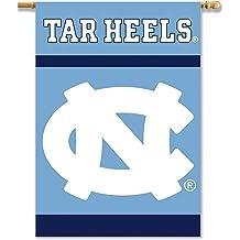 NCAA North Carolina Tar Heels 16oz Double Wall Stainless Steel Thermocan