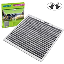 Replace CF9846A,04 4Runner Cabin air filter,05 4Runner Cabin Air Filter,2007 Prius Cabin Air Filter,Fit//Celica//FJ Cruiser//Prius//Sienna with Activated Carbon,OEM# CP846//CF9846A//63210-AG000