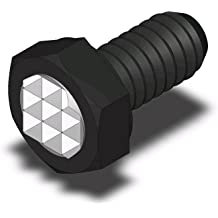 35 Dur Fairlane TBU-0231X3-FC-35UR Threaded Design Swivot Sof-Top 3//8-24 x 3