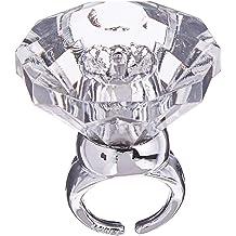 Party Beads Necklaces 12Pcs /& Light Up Engagement Diamond Rings Bachelorette W 3