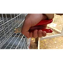 1300ct - 2LB Traps Fencing Eden Farms 3//8 Galvanized Hog Rings for Cages and Dozens More uses Around The Farm /& Home Sausage Casings