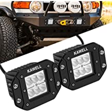 KAWELL 36W CREE Chip LED Light Bar Ultra-Thin 13 Spot Light Vehicles Light for Off Road Bumper SUV Truck Car ATVs 4x4 4WD Boat Pickup Heavy Duty Car
