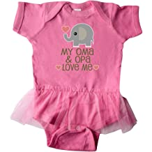 inktastic Thanksgiving with My Nana and Papa Cute Squirrel Infant Tutu Bodysuit