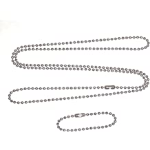 5d712dbc55 Stainless steel 4.5 in and 27 in. military dog tag ball chain Ships in 1