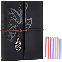 "Scrapbook Album,SEEHAN Travel Leather Photo Album/""Statue of Liberty/""Vinta.. New"