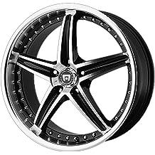 Motegi Racing MR131 Traklite Satin Black Wheel 17x8//5x114.3mm, +40mm offset