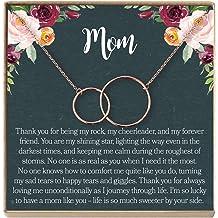 Niece Birthday Niece Confirmation Dear Ava Niece Gift Necklace: from Aunt 2 Interlocking Circles