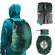 with Reflective Strap Backpack Covers 18-55L with Reflective Strap KKTICK Waterproof Backpack Rain Cover Adjustable Anti Slip Buckle Strap /& Silver Coated Inner Layer for Outdoor Hiking Camping Traveling Cycling Small Backpack Covers 18-25L