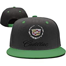 Custom Cadillac-Emblem-Symbol-Logo red Basketball Cap Womens Mens