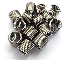 Fullerkreg UNC #6-32X1.5D Wire Thread Inserts,304 Stainless Steel 30 Pcs