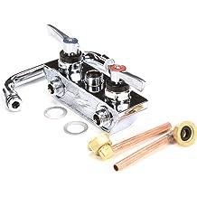 Glastender 03005754 Faucet Backsplash with 10 Swi