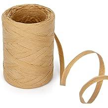 656 Feet Raffia Paper Raffia Twine Packing Paper Craft Ribbon for Florist Bouquets Decoration